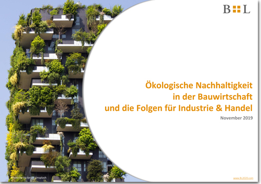 Ecological sustainability in the construction industry and its consequences for industry and trade (Austria)